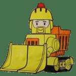 брунер - поли робокар