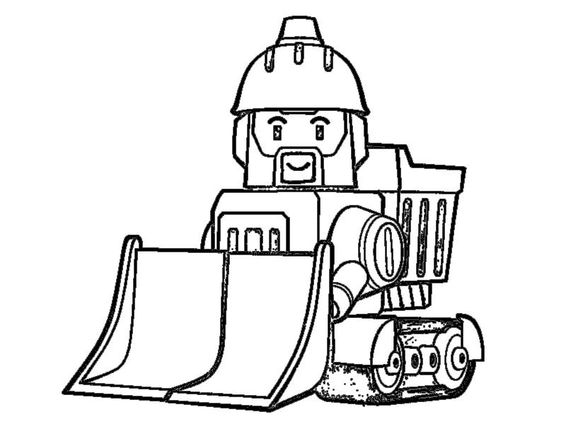 брунер поли робокар