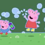 Раскраска Джордж и свинка Пеппа