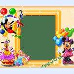 Приглашения на день рождения для девочек - картинки, раскраски