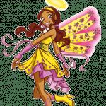 Друзья ангелов - раскраски для девочек