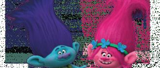 раскраски для девочек тролли