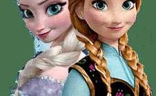 Раскраски для девочек эльза и анна