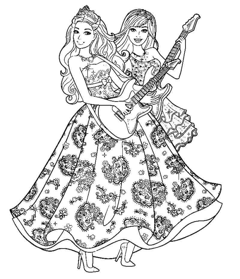 барби принцесса и поп звезда