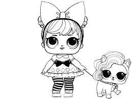 раскраски для детей куклы лол распечатать бесплатно