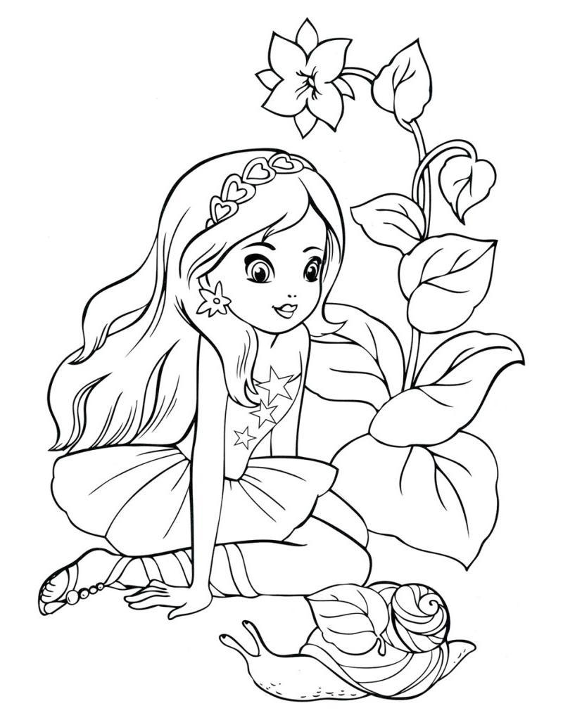 Картинки для девочек и распечатка