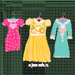 Новые и красивые раскраски для девочек с одеждой: сумка, платья, одевалки можно распечатать совершенно бесплатно
