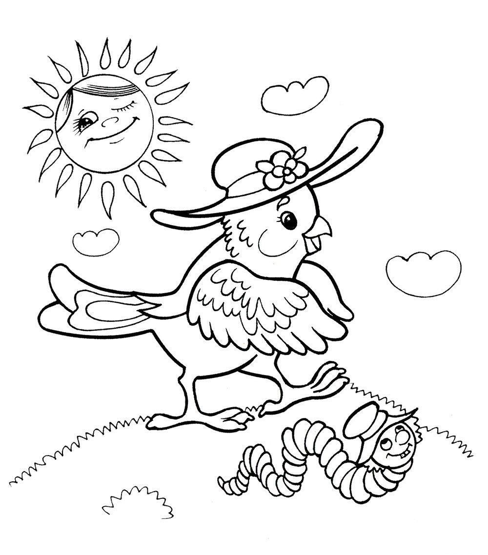 картинки раскраски для девочки 5 лет