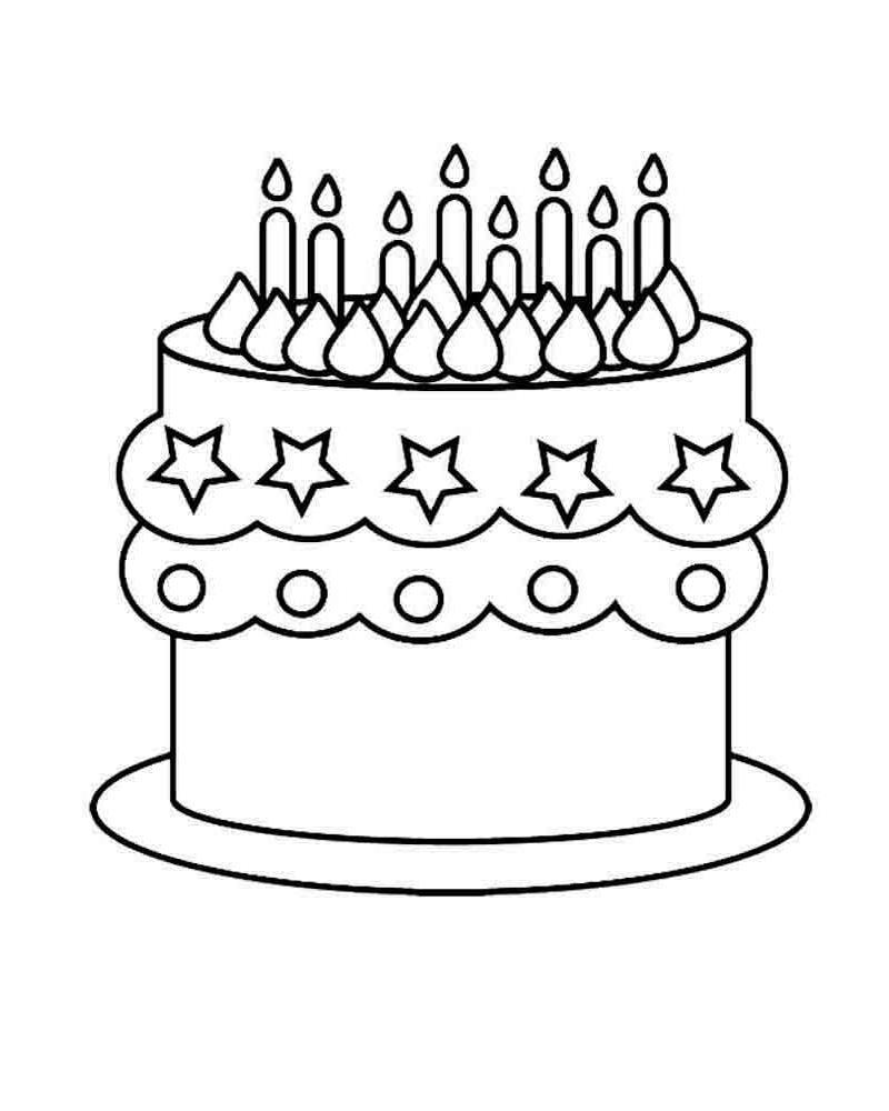 картинки тортики для девочек