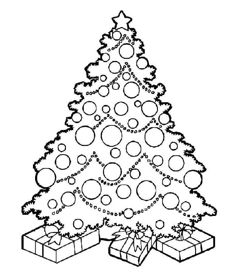 новогодняя елка для девочек
