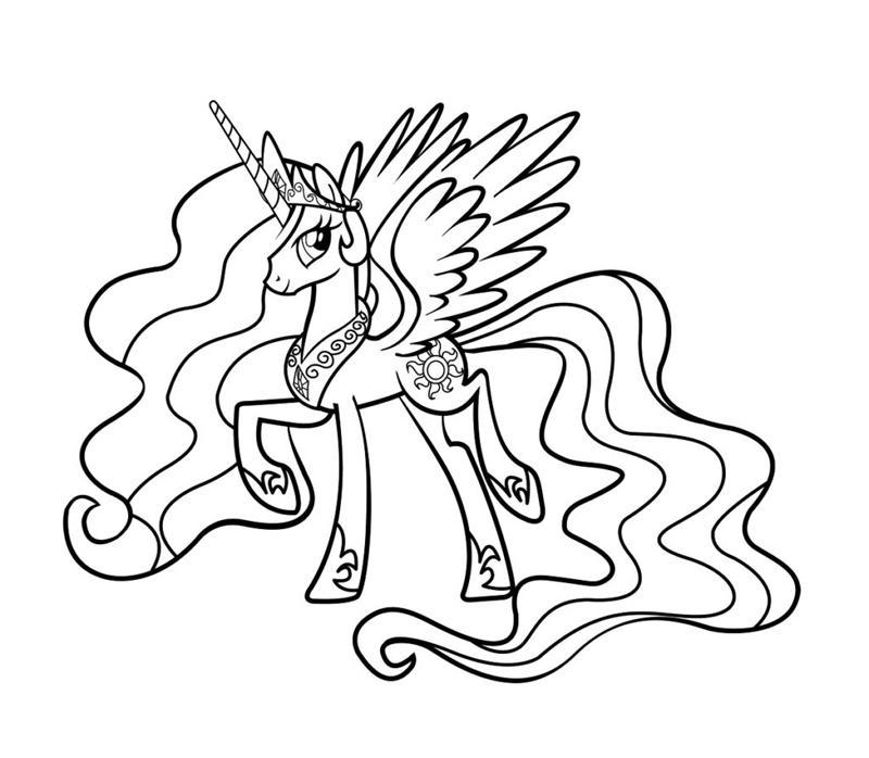 пони принцесса селестия