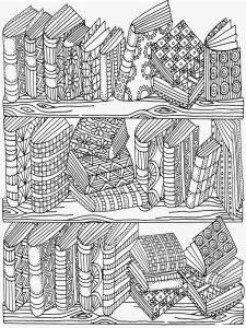 раскраски антистресс книги