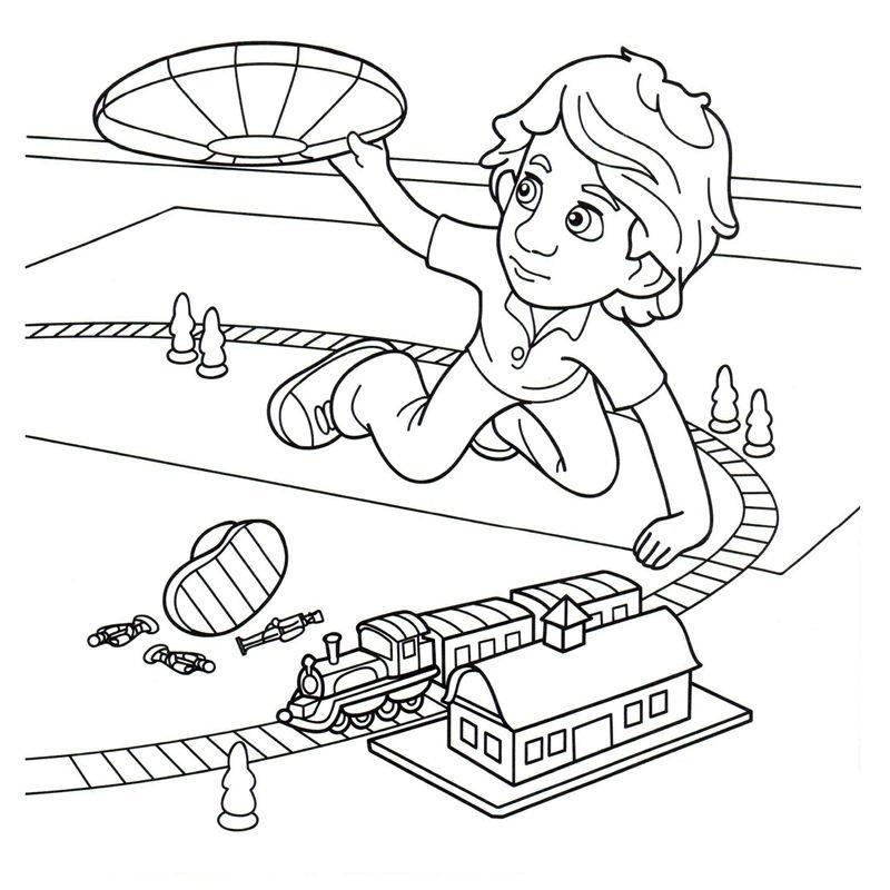 раскраски для девочек фиксики герои из мультфильмов