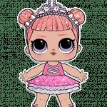 раскраски для девочек куклы лол