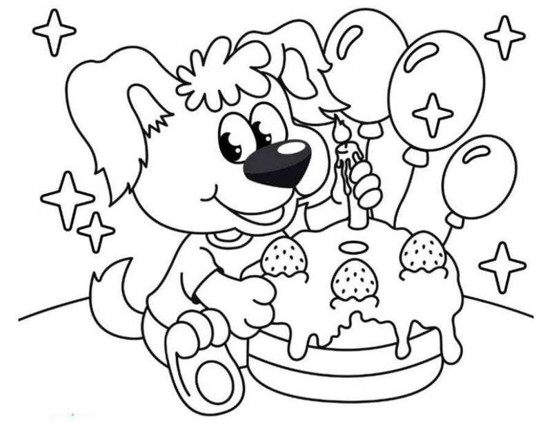 Раскраски приглашения на день рождения для девочек ...