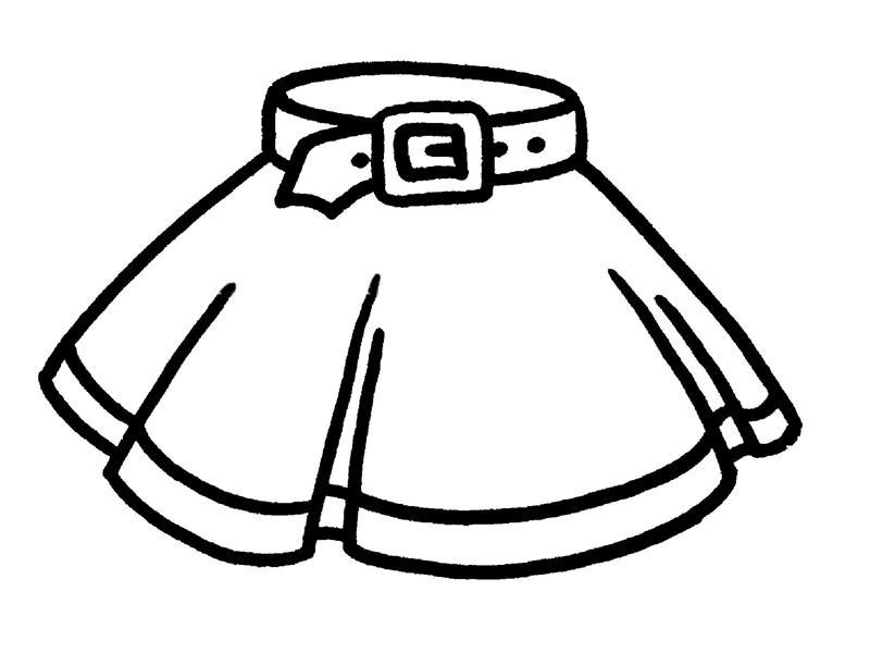 раскраски для девочек одежда бесплатно