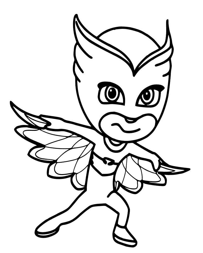 Раскраски для девочек Супергерои в масках: распечатать ...