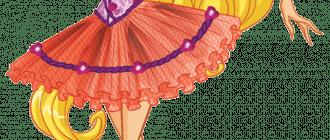 Раскраски балерина для девочек