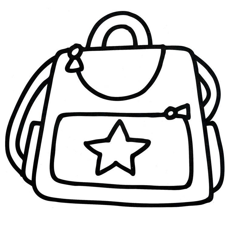 сумка раскраска для девочки