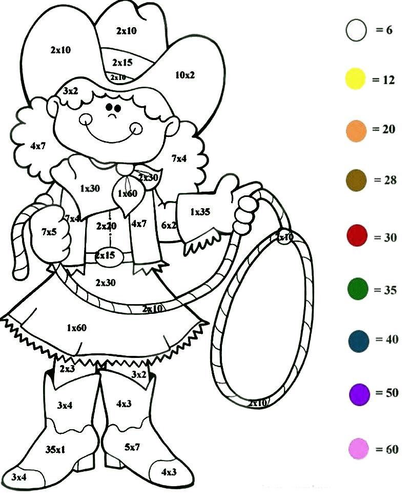 математические раскраски сложение и вычитание в пределах 10