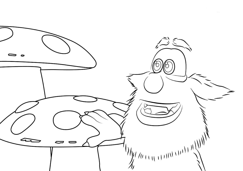 Буба и грибы
