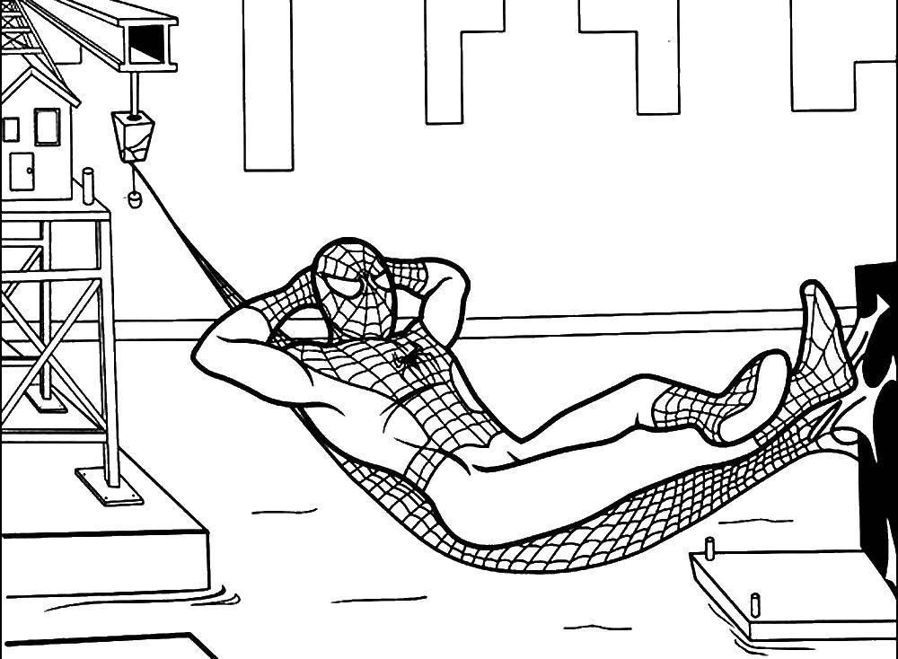 Человек паук вдали от дома