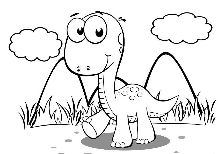 Динозавр детеныш