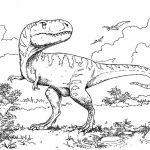 Динозавры раскраска для детей распечатать