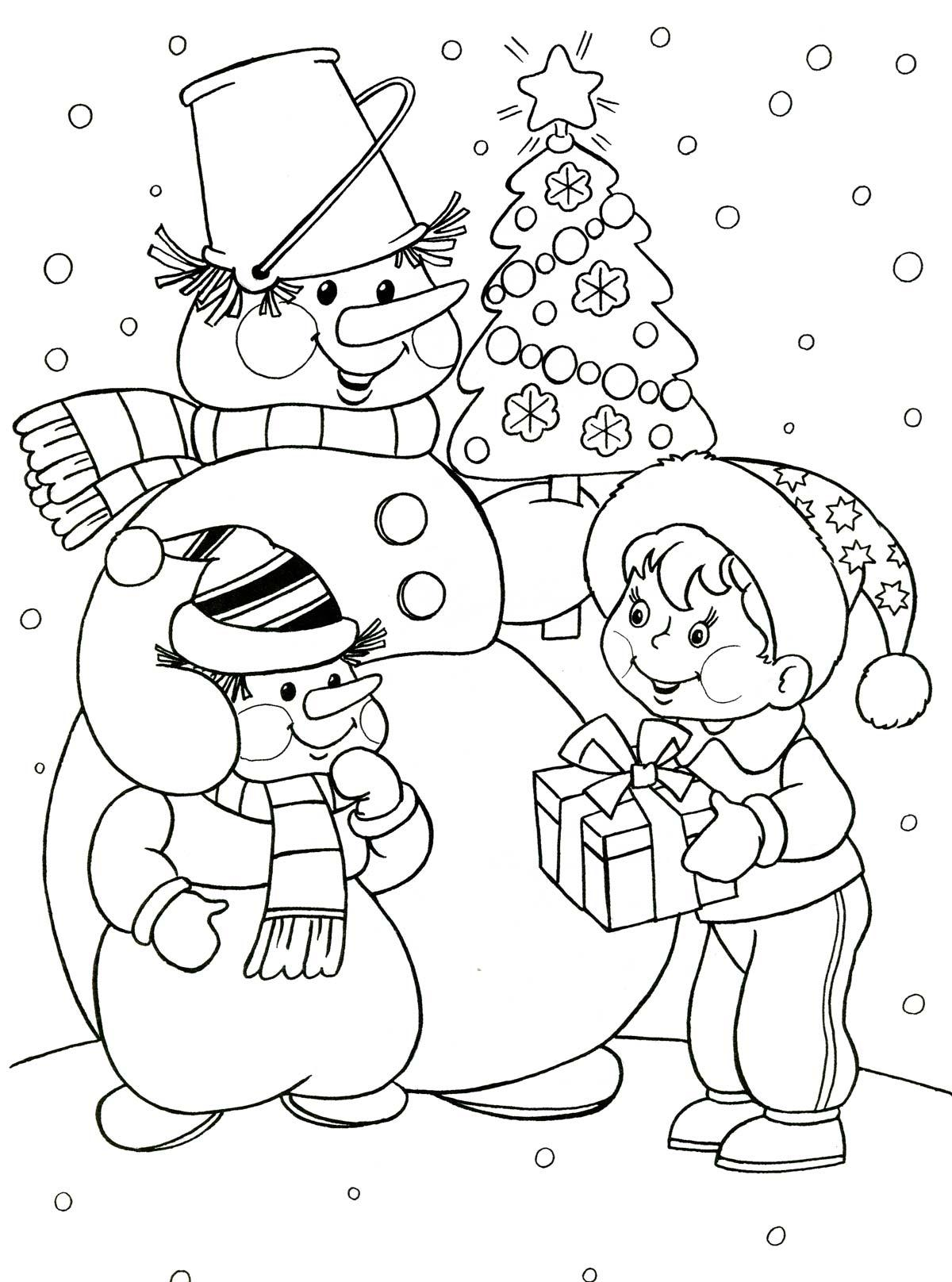 Картинки с новым годом раскраски для ст группы