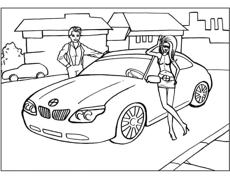 машины для девочек