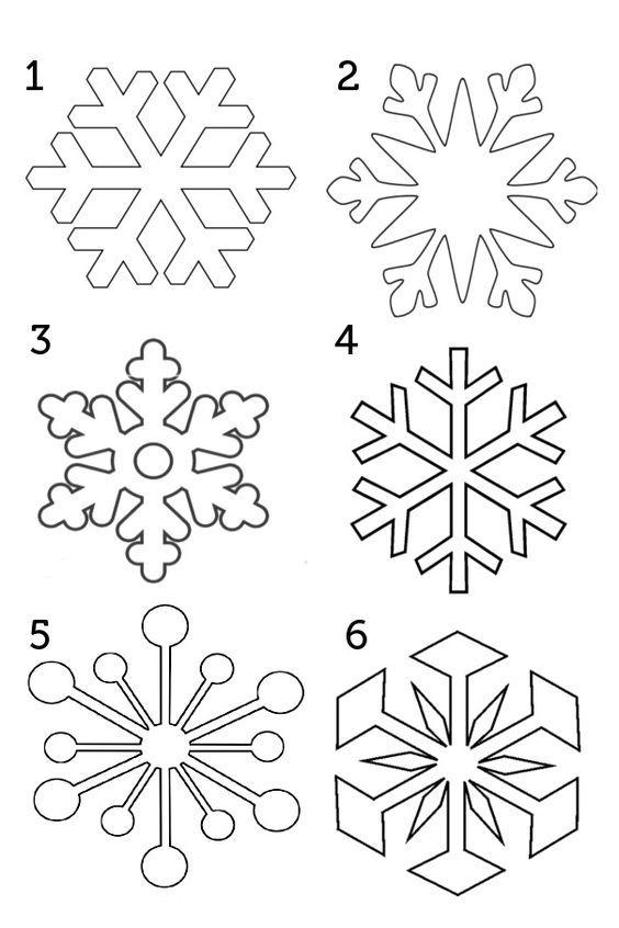 новогодние раскраски снежинки