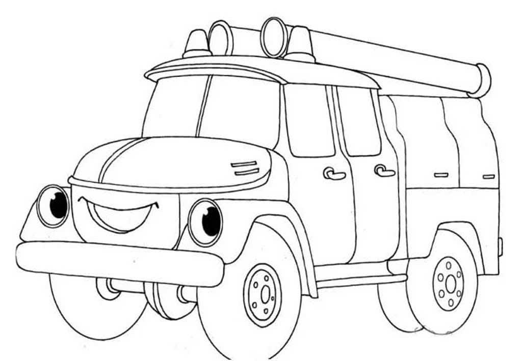 Пожарная машина для детей 3 4 лет