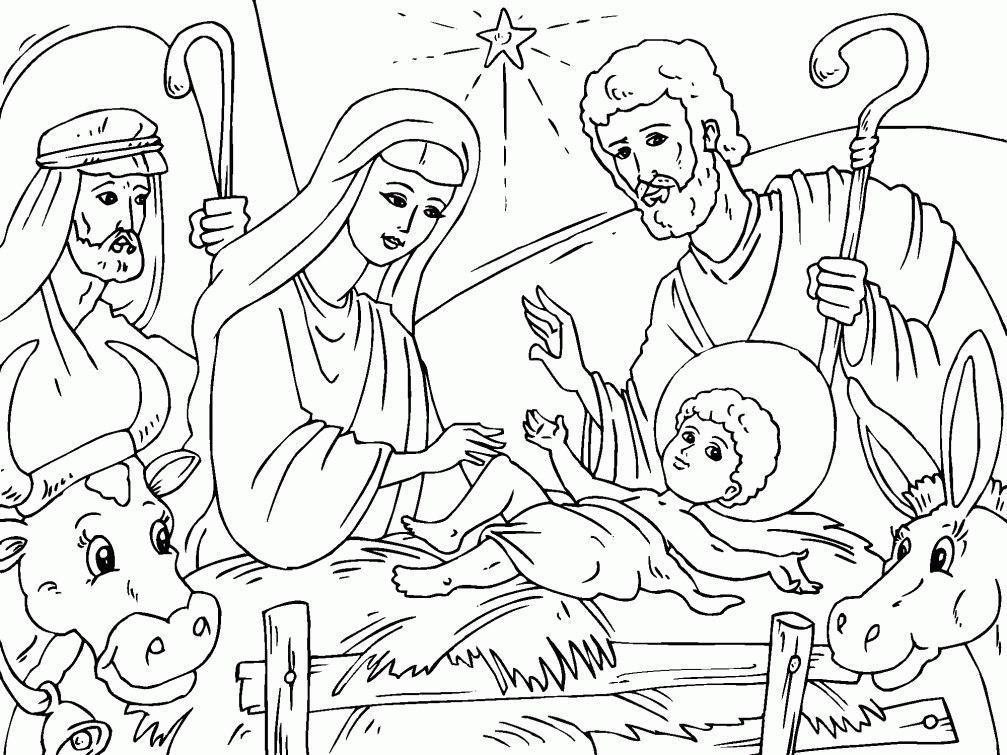 Картинки раскраски рождество для детей