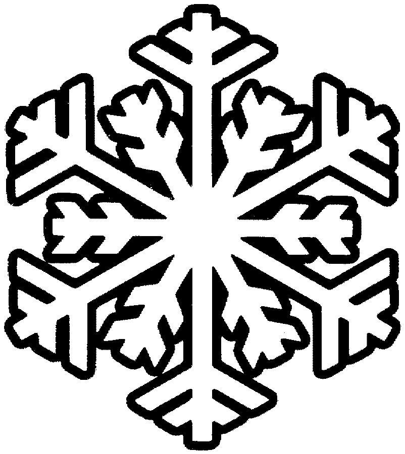 раскраски для дошкольников снежинки
