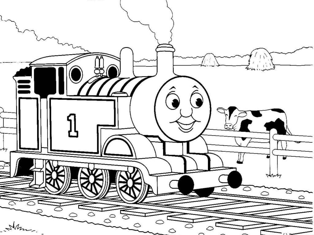 Томас на ферме
