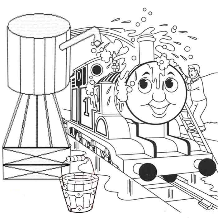 Томас на мойке