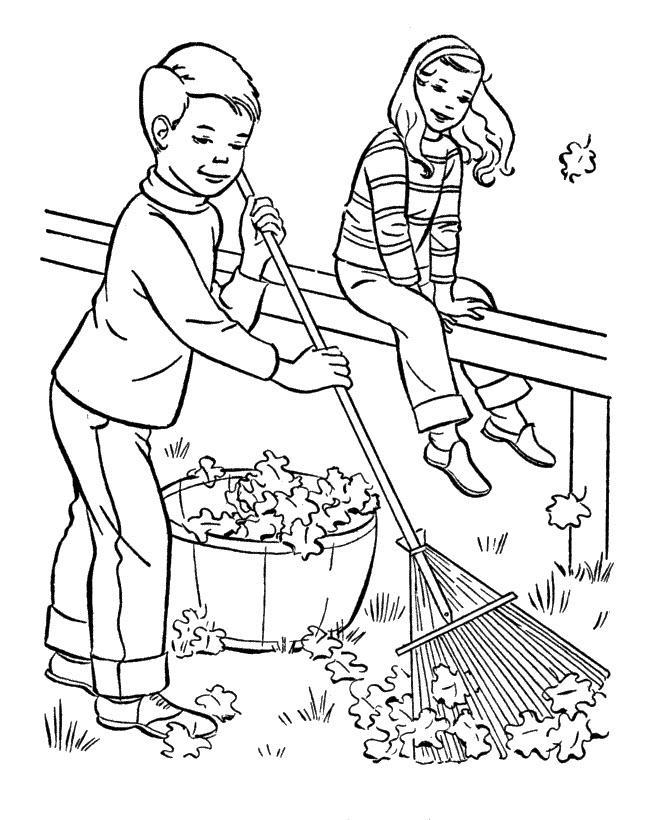 Раскраски осень распечатать бесплатно скачать