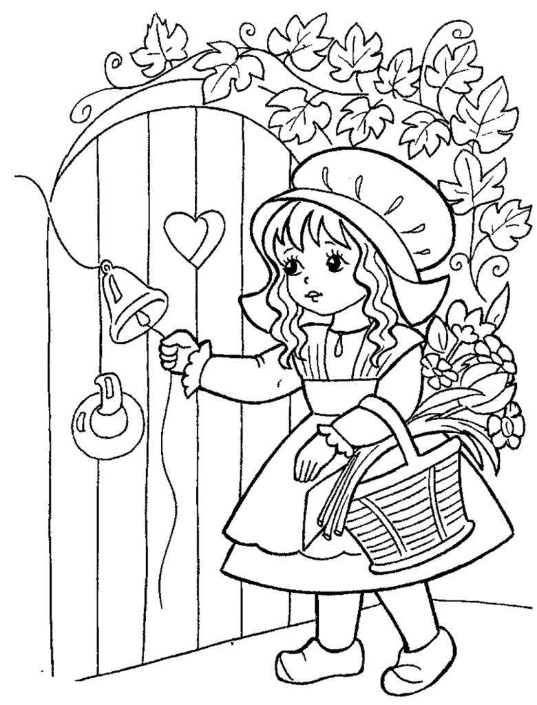Картинки рисунки из сказки красная шапочка сосновые шишки