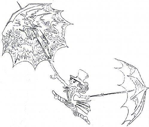 иллюстрация к сказке оле лукойе раскраска