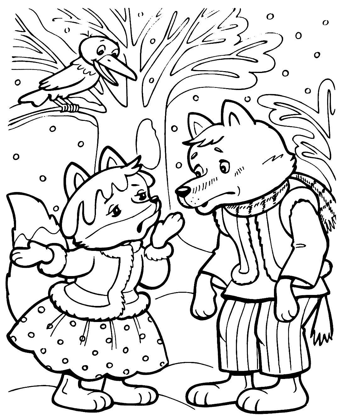 рисунки животных из русских народных сказок целом можно
