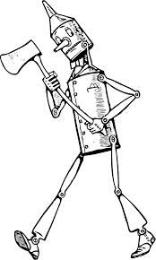 железный дровосек из волшебник изумрудного города распечатать