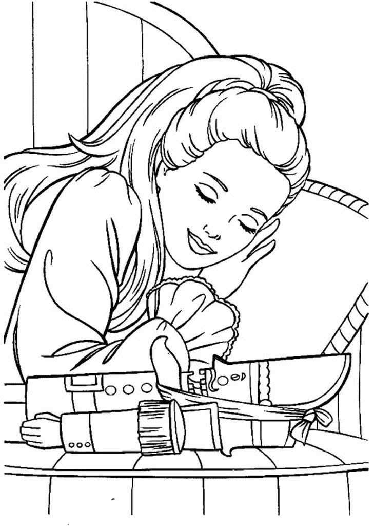 щелкунчик раскраска для детей распечатать