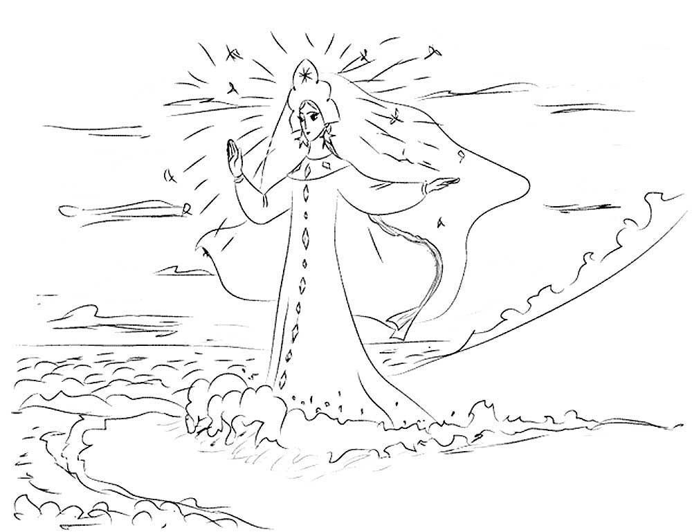 сказка о царе салтане царевна лебедь распечатать