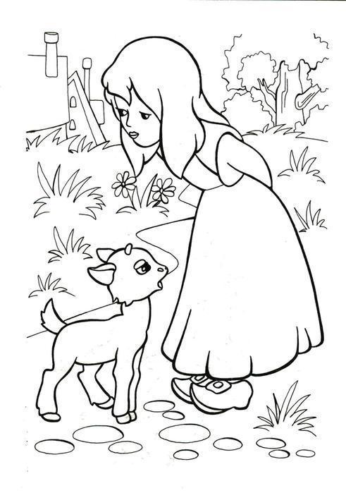 снежная королева картинки раскраски распечатать бесплатно