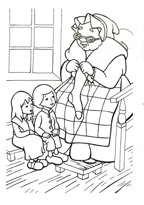 снежная королева раскраска для детей распечатать бесплатно скачать формат а4