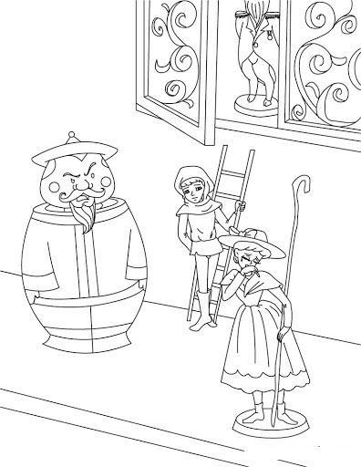 стойкий оловянный солдатик раскраска для детей распечатать бесплатно