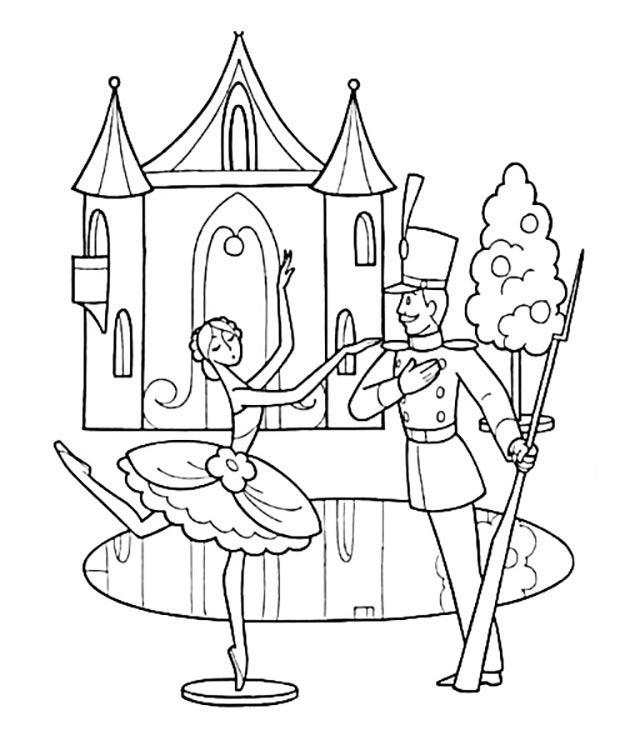 стойкий оловянный солдатик раскраска распечатать