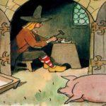 раскраска свинопас
