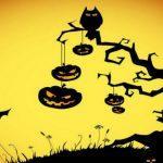 раскраска хэллоуин