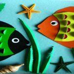 Шаблоны и трафареты рыбки для вырезания из бумаги распечатать